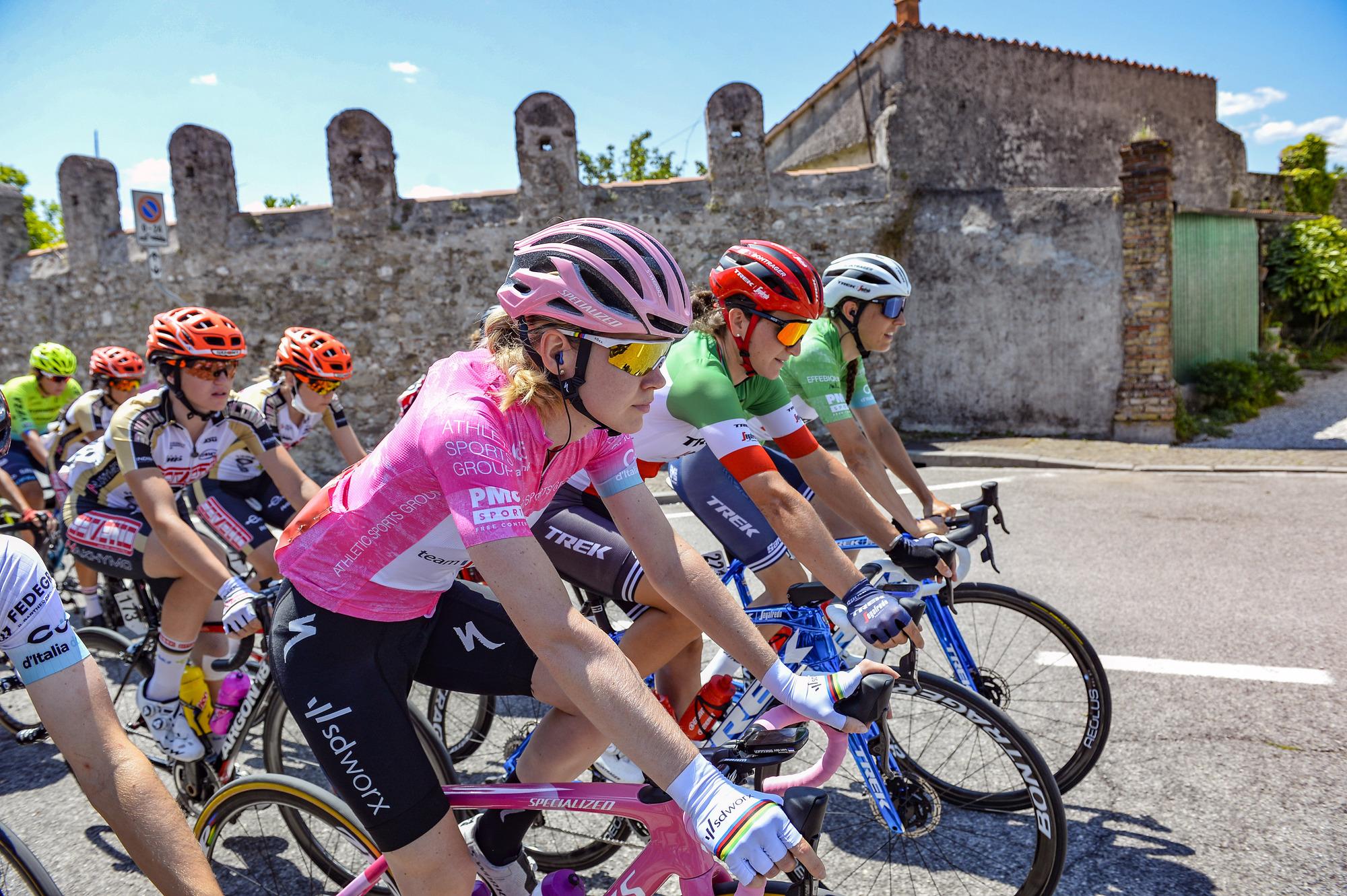 Nona tappa del Giro d'Italia Donne 2021: Feletto Umberto – Monte Matajur