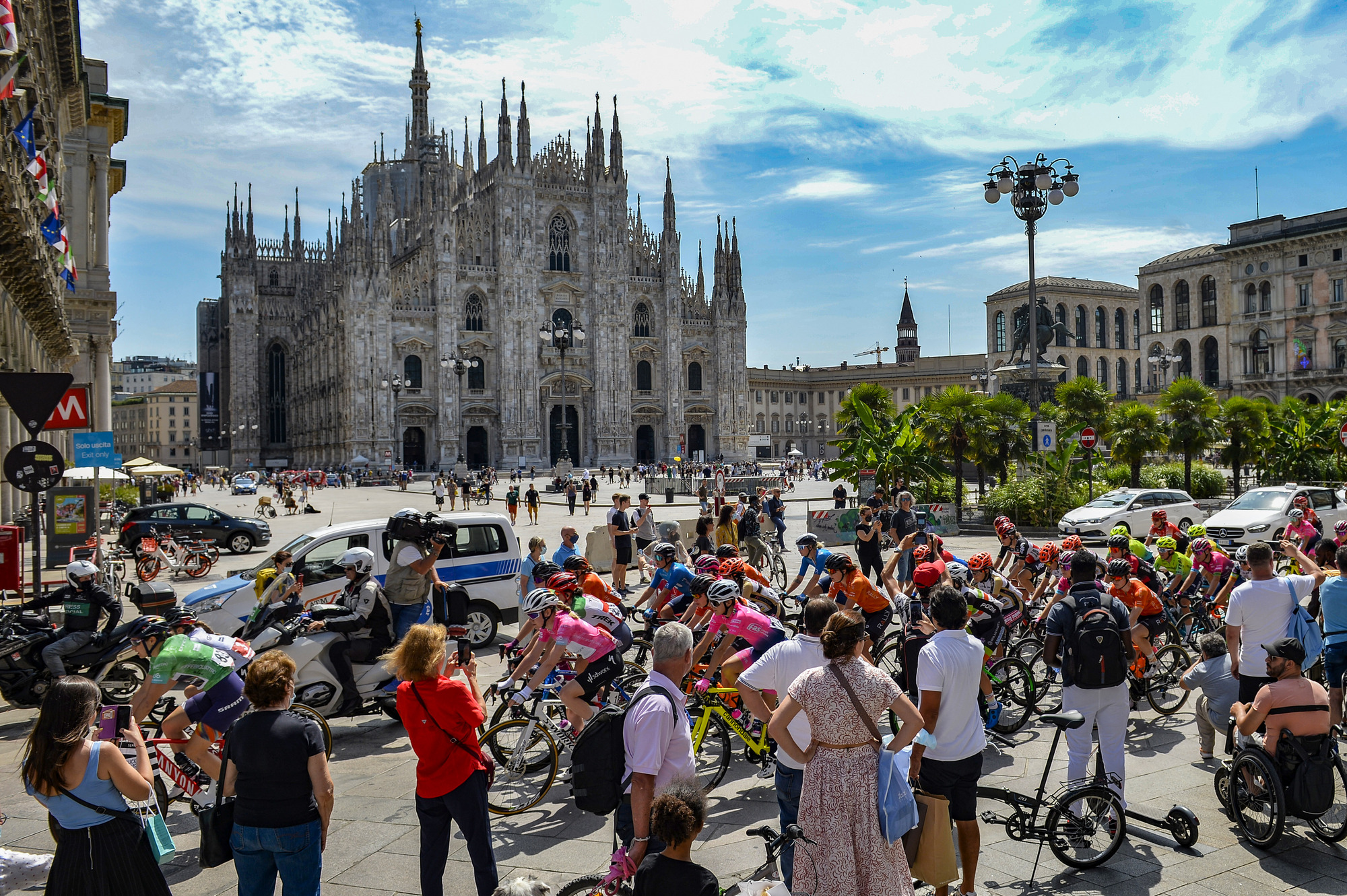 Fifth stage of Giro d'Italia Donne 2021: Milano – Carugate
